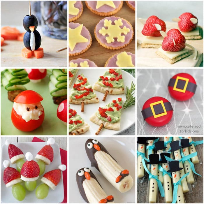 Christmas healthy snacks