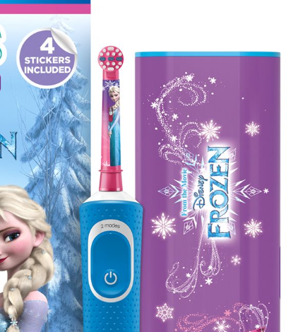 Frozen Electric Toothbrush - christmas gift